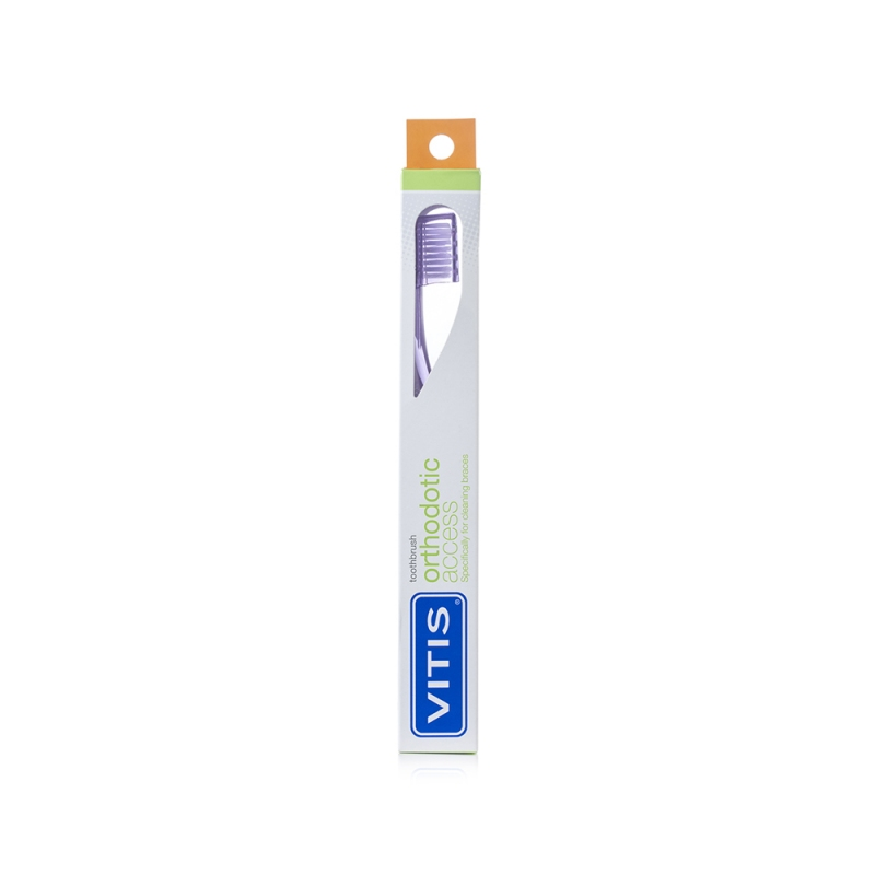 VITIS® orthodontic access toothbrush