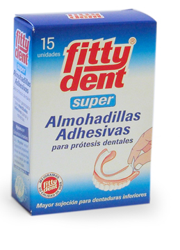 Secure Denture Adhesive >> Fittydent® Super Denture Adhesive Cushions