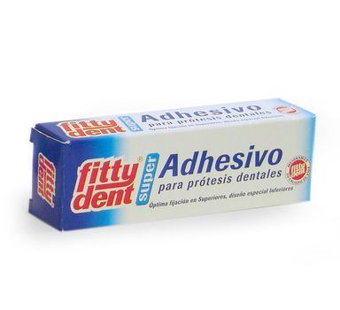 Secure Denture Adhesive >> Fittydent Super Denture Adhesive