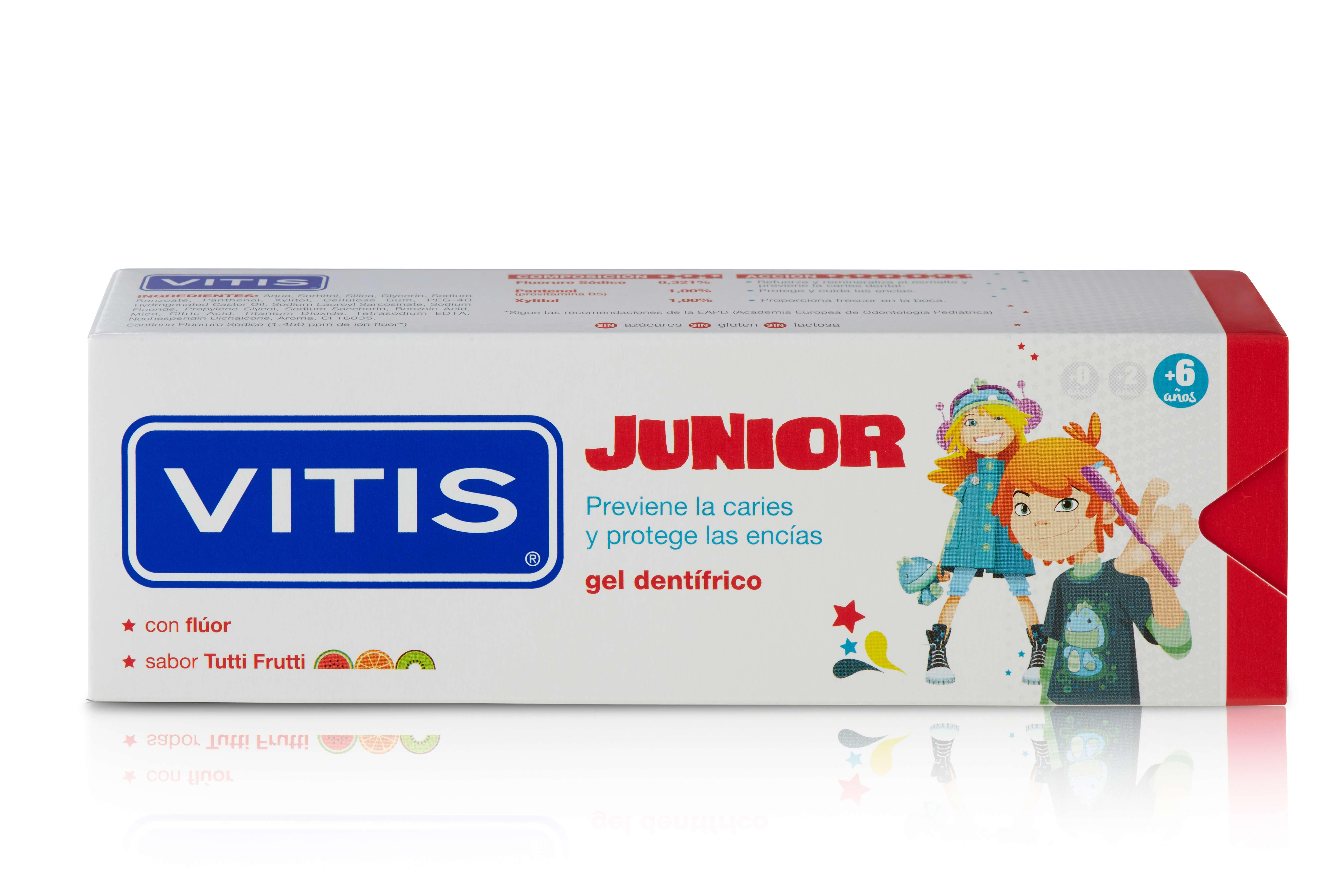 pasta de dientes vitis anticaries