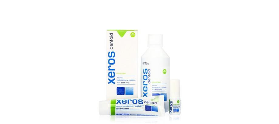 <STRONG>XEROS DENTAID<BR></STRONG>Máxima hidratación y cuidado de la boca seca