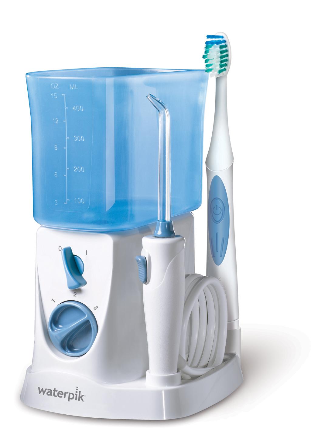Watepik 700.jpg. El Irrigador Waterpik® 2en1 WP-700 combina un cepillado  eléctrico de tecnología sónica con la irrigación ... 3998f8e96cc2