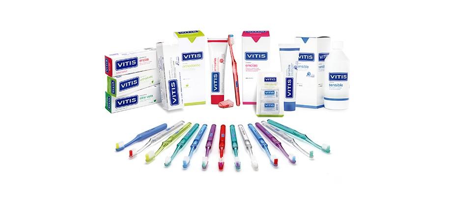 <strong>VITIS®</strong><br>Higiene bucal diaria