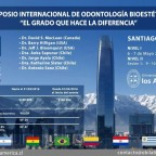 Simposio internacional de odontología bioestética: El grado hace la diferencia