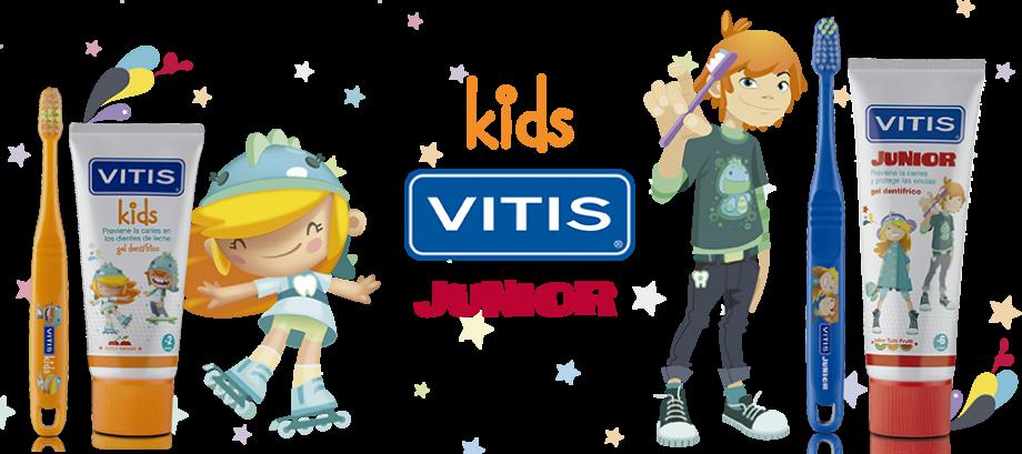 Descubre la nueva gama de VITIS® kids y VITIS ® junior